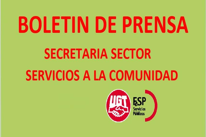 Boletín de Prensa de Servicios a la Comunidad a nivel nacional (22-10-2021)