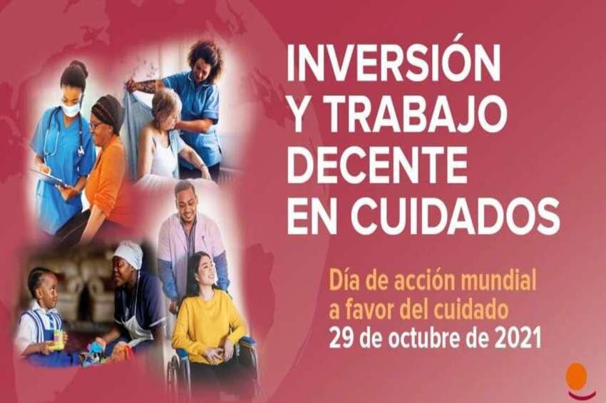 """Día de Acción Mundial: """"Inversión y trabajo decente en cuidados"""""""
