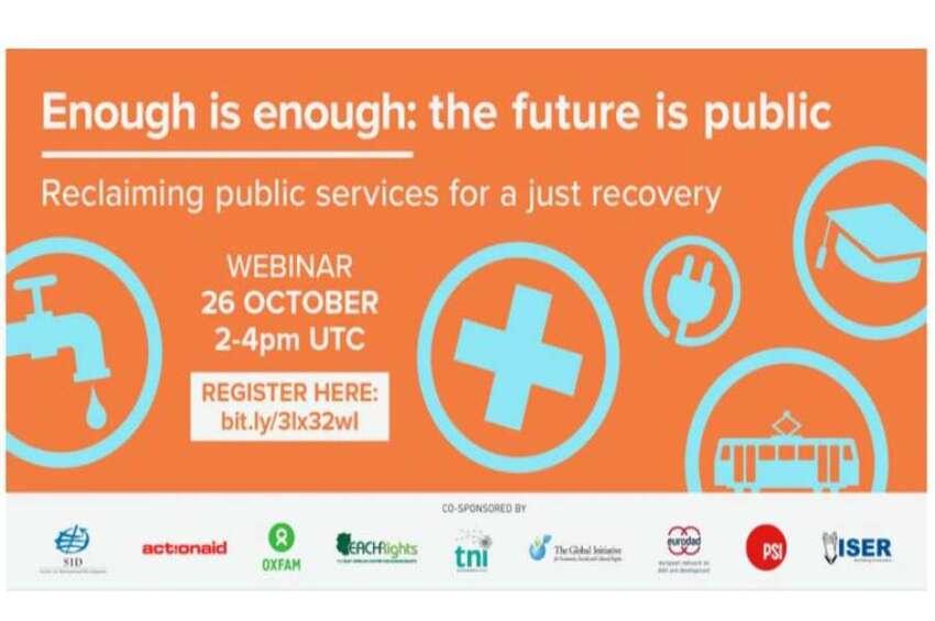 El futuro es público: Manifiesto global por los servicios públicos