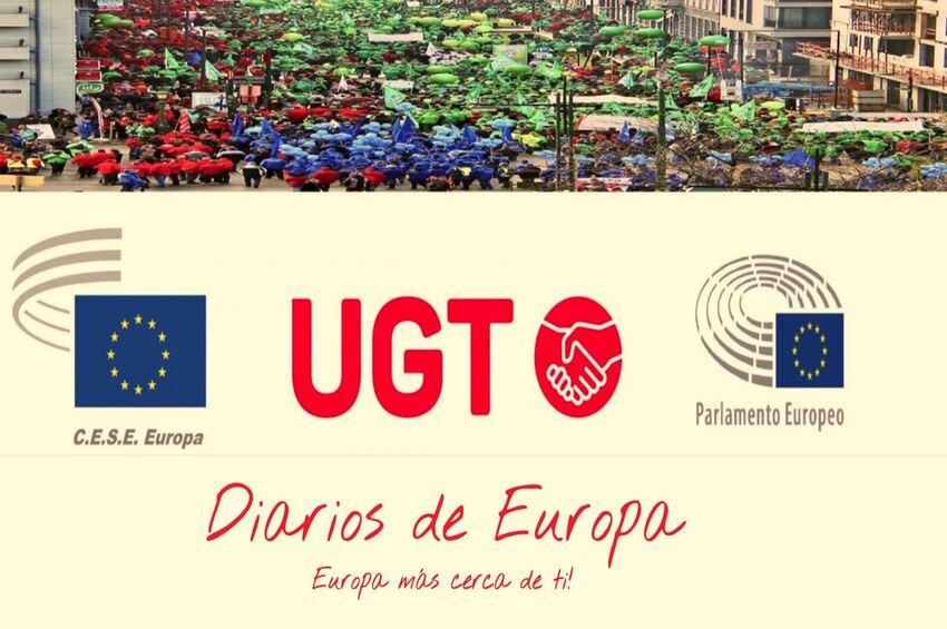 """UGT pone en marcha """"Diarios de Europa"""""""